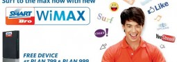 SmartBro WiMAX Finally Available