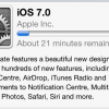 iOS7 Update Arrived Ready for Download Now | Problems Encountered