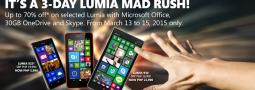 3 Day Lumia Mad Rush